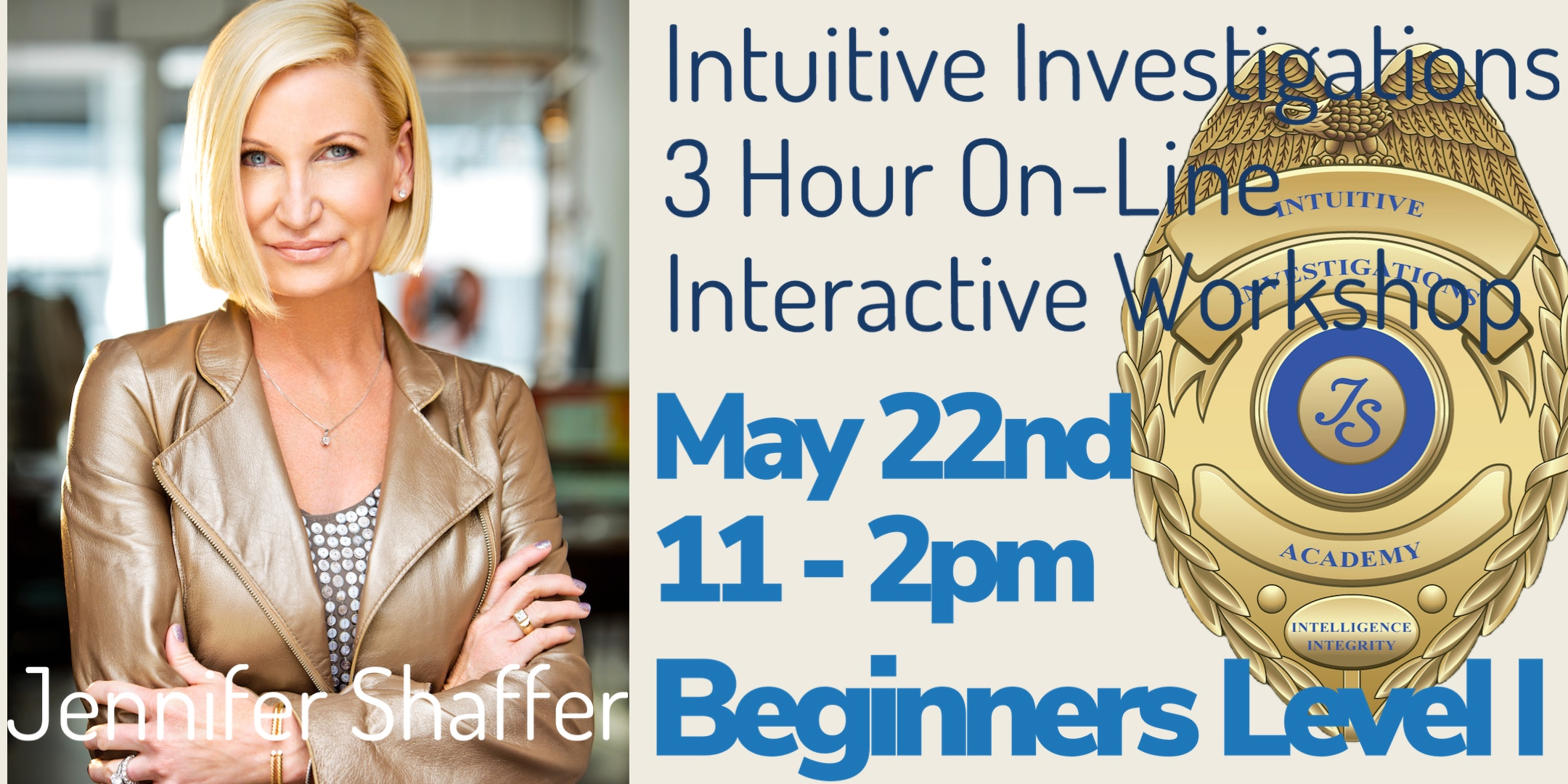 A Beginners Workshop On Psychic Investigations With Jennifer Shaffer @ zoom